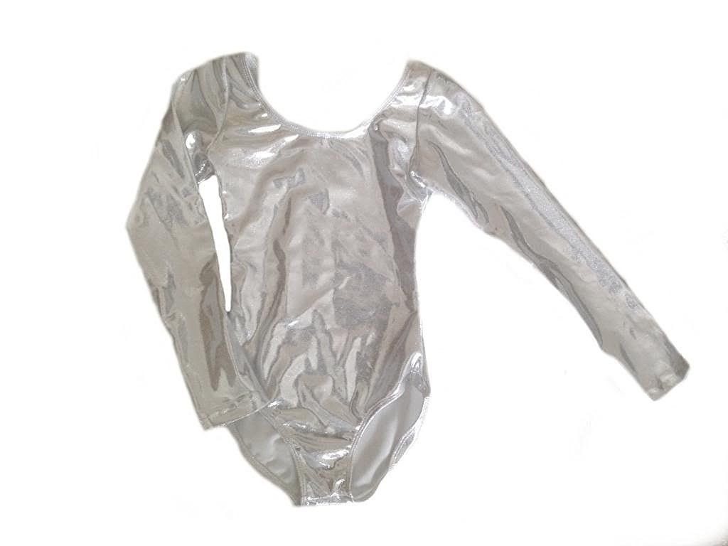 Amazon.com : Metallic Long Sleeve Leotard (Multiple Colors) : Sports & Outdoors