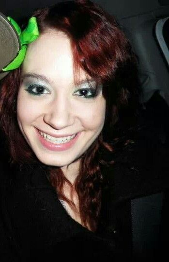 St. Patty's day green dark Grey and silver eyes