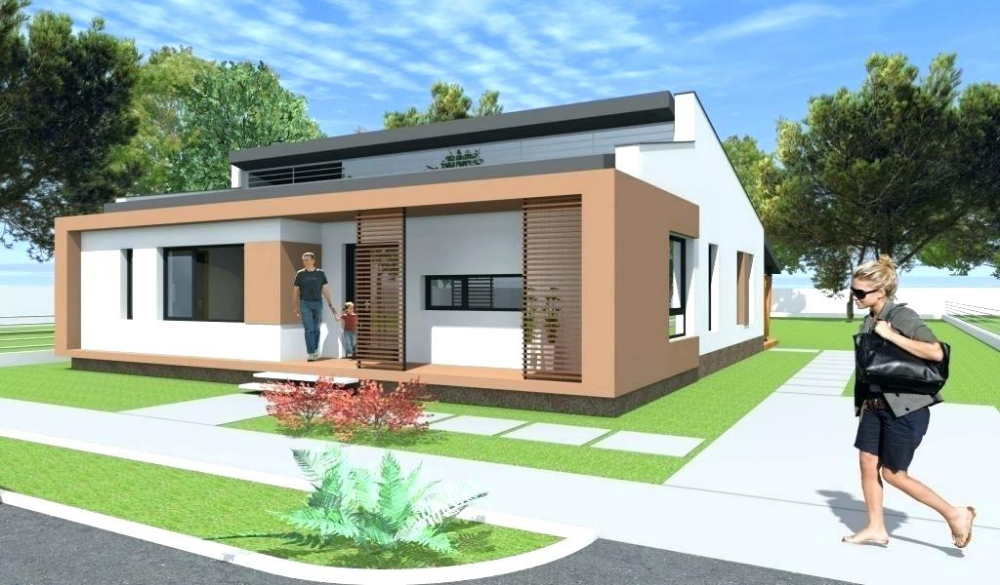 Minecraft Cool Houses Google Search Modern Bungalow House Design Modern Bungalow Modern Bungalow House Plans