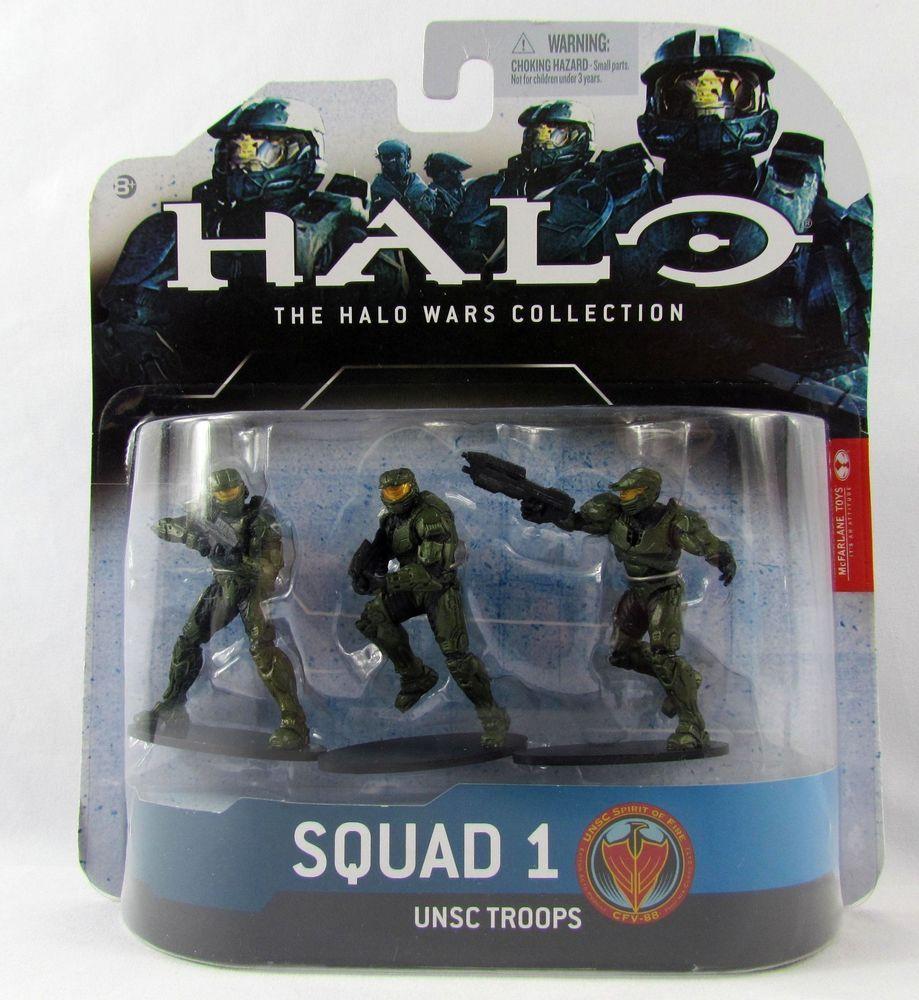 Halo 3 Mcfarlane Action Figures *New Unopened*