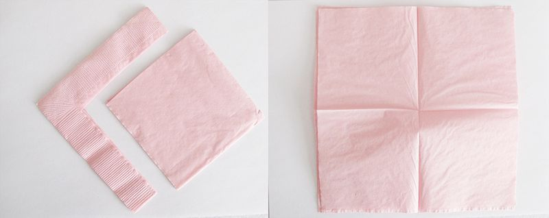 Make flowers from 3 napkins tiny tot things pinterest napkins made from paper napkins this craft is cheap and easy with limitless possibilities the stiffness of a paper napkin holds up better than tissue paper and mightylinksfo