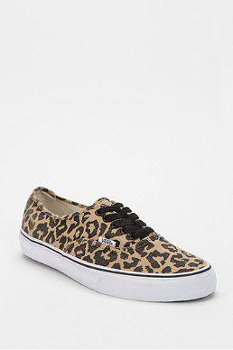 f850255288d425 Vans Authentic Van Doren Leopard Print Women s Sneaker