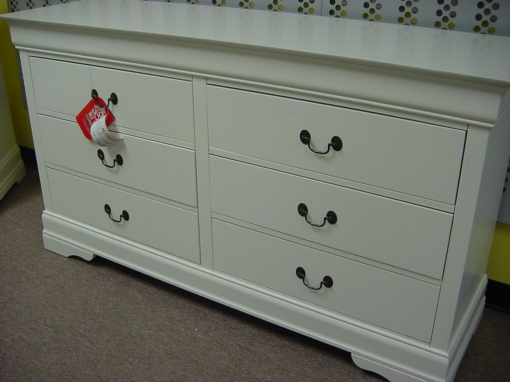 white dresser drawers perth