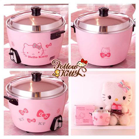 98a3b98e3 Details of The Hello Kitty Rice Cooker | Tatung Rice Cooker | Rice ...