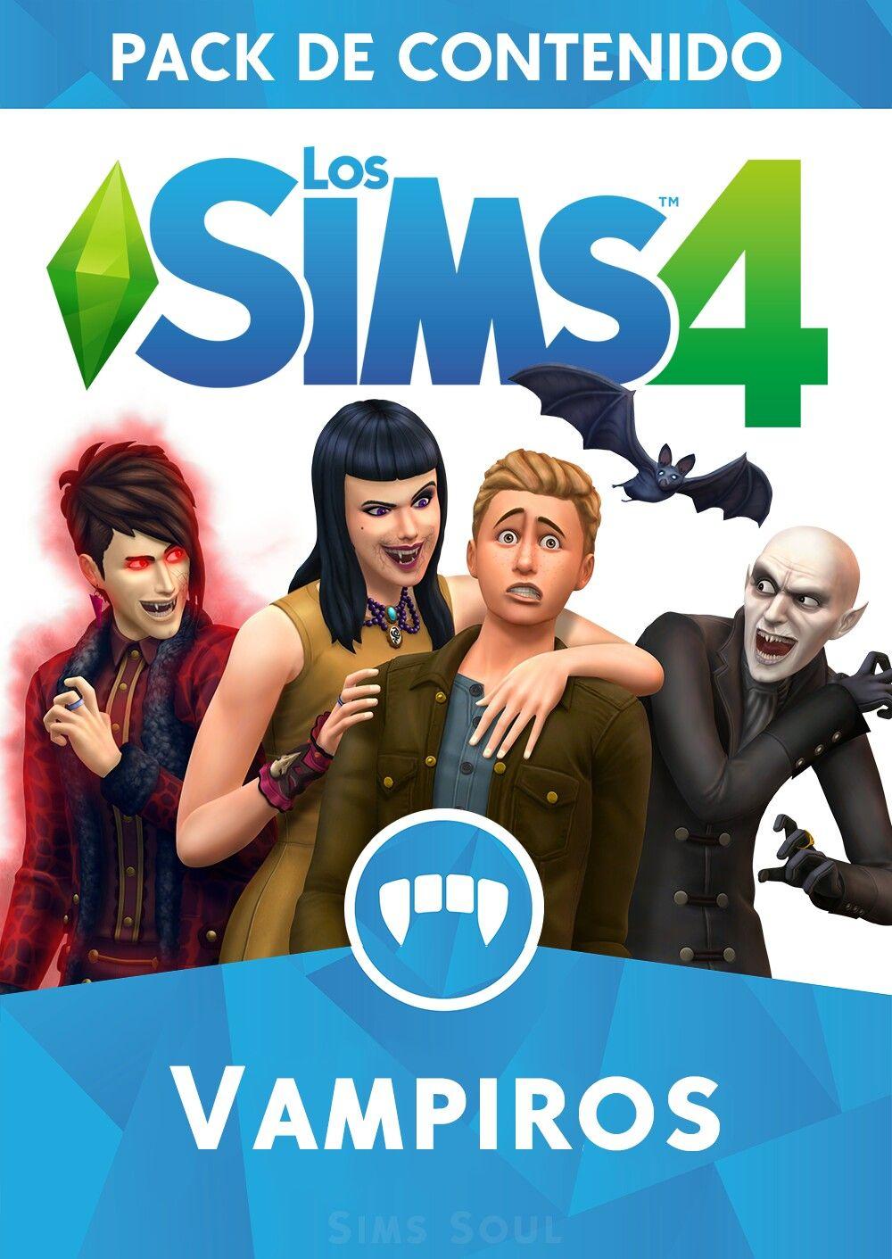 Los Sims 4 Vampiros Pack De Contenido Sims 4 Expansiones Sims Sims 4