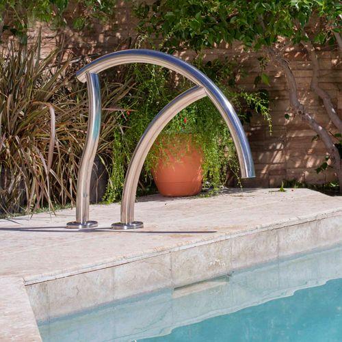 Best Inter Fab Designer Pool And Spa Grab Rail In 2020 Pool 400 x 300