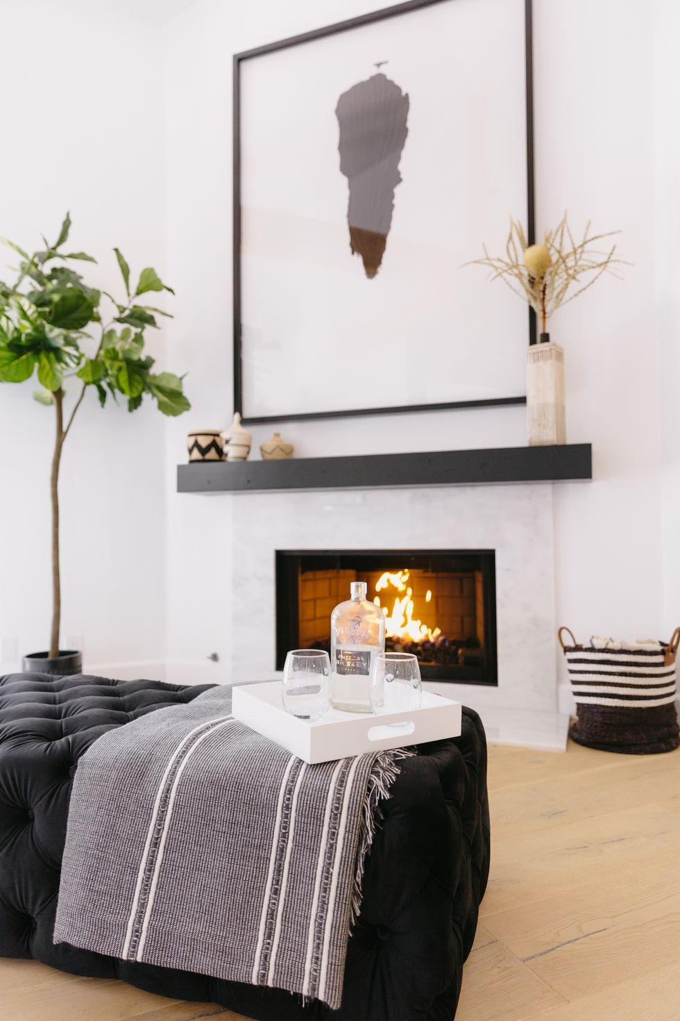 These Modern Fireplace Ideas Make Getting Cozy Look Cooler