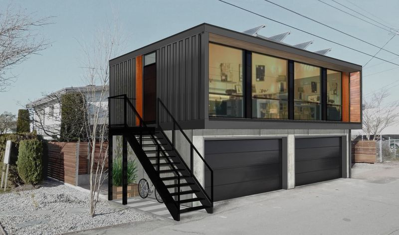 Chic Shipping Container Homes Shipping Container Living Space Prefab Shipping Container Homes Prefab Container Homes Building A Container Home