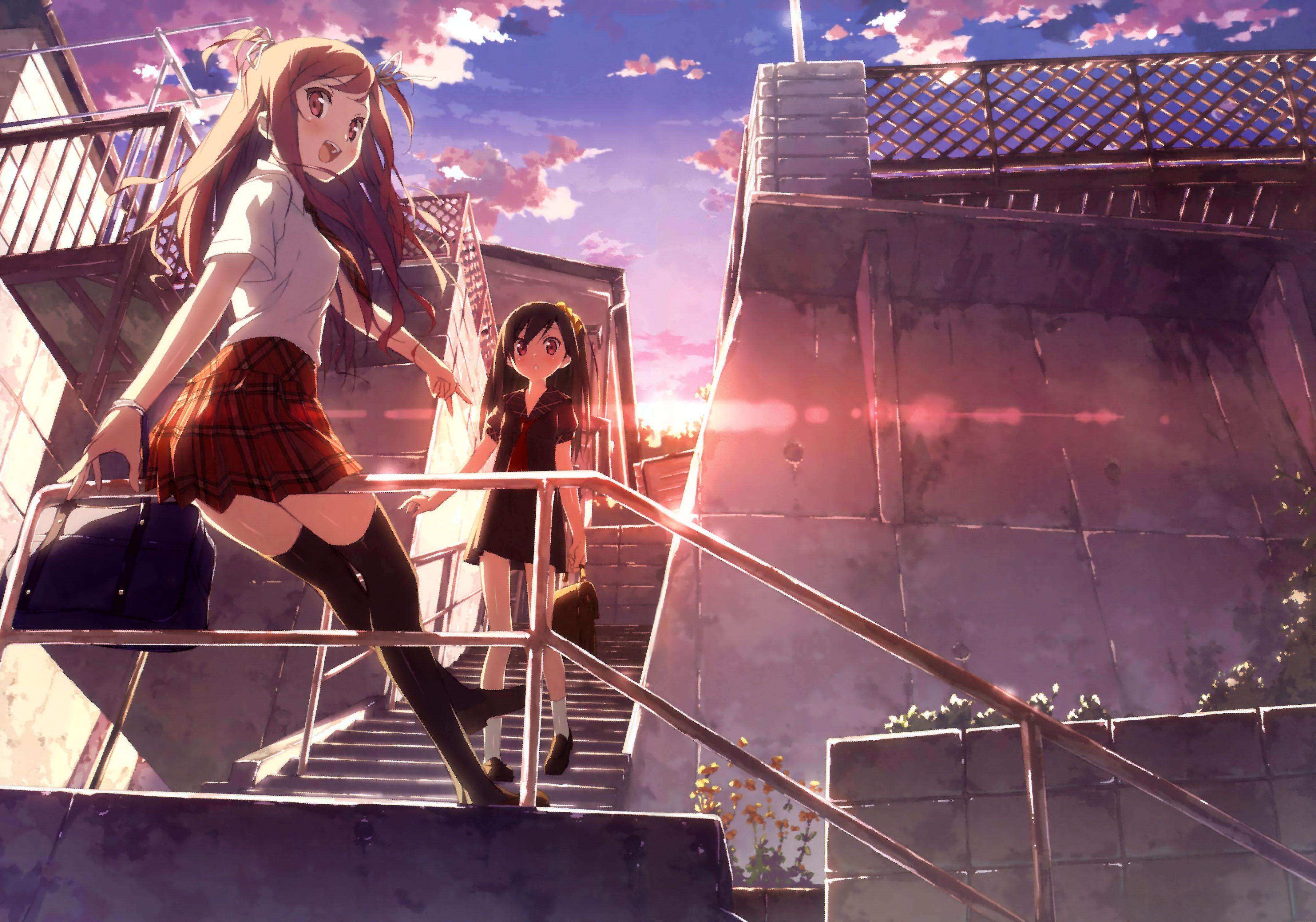 hentai ji to warawanai neko 4k wallpaper (4280x3000