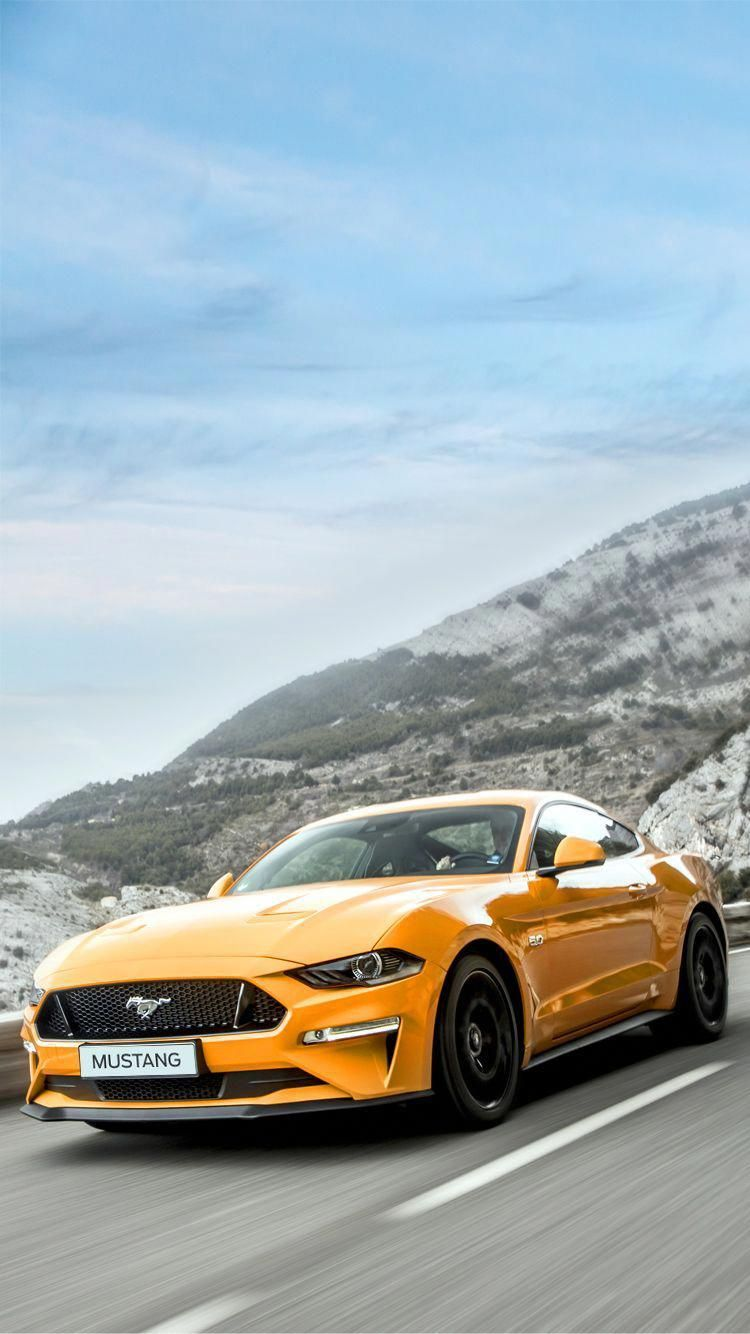 Ford Mustang 2018 Universal Phone Wallpapers Backgrounds
