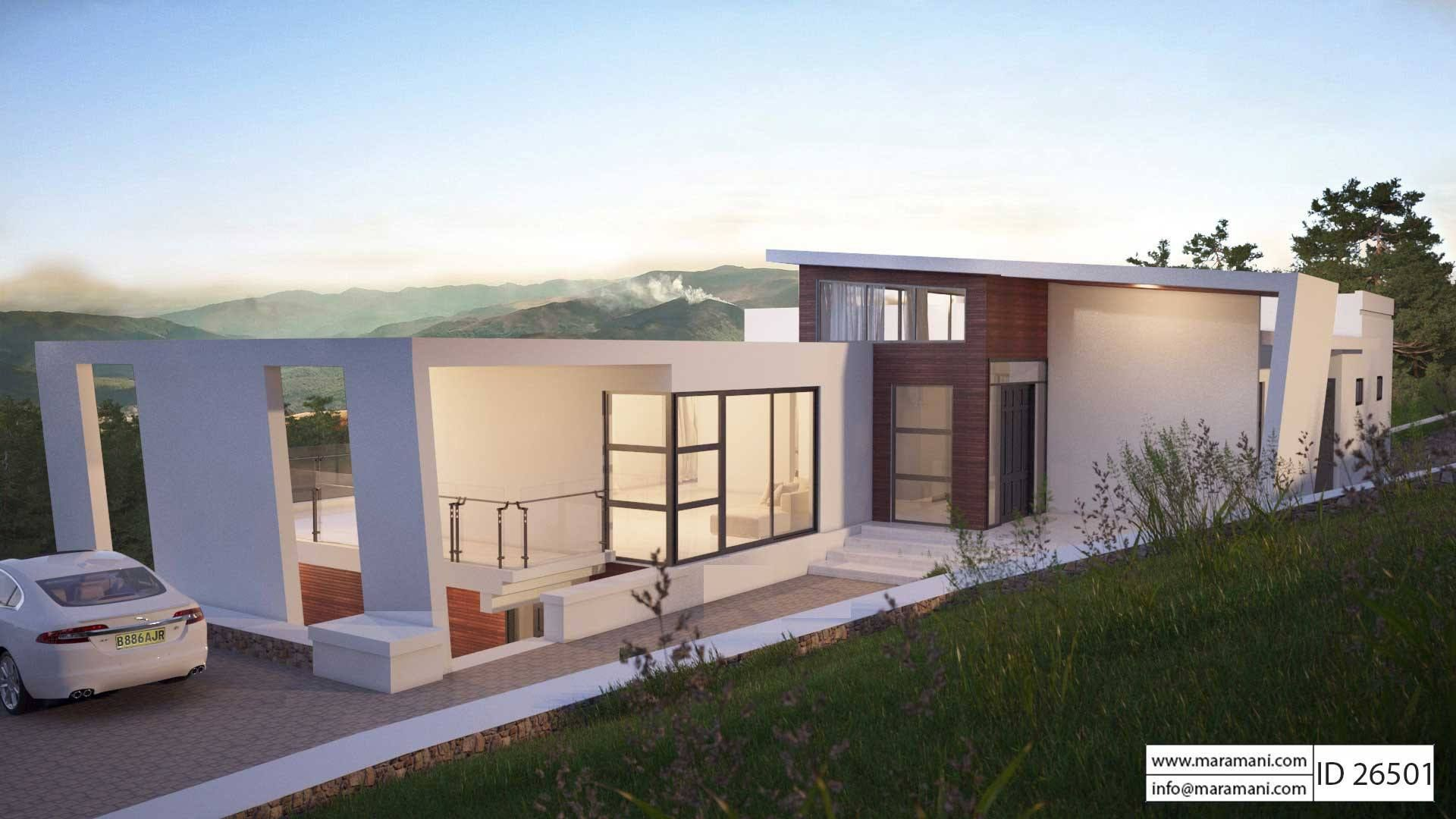 Contemporary house plan id 26501 maramani com