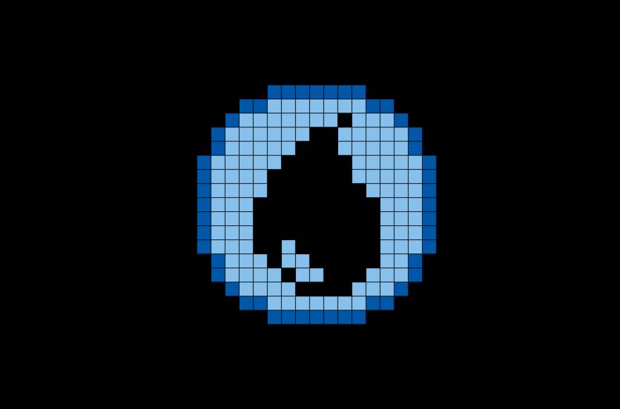 Pokemon Water Energy Pixel Art Pixel Art Pokemon Pixel