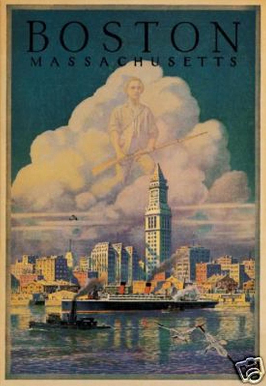 Vintage Posters Boston