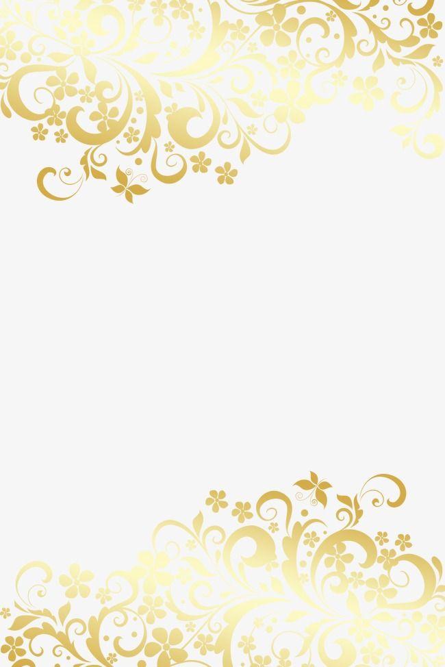 Golden European Pattern Background Golden Pattern Frame Png And Psd Floral Border Design Background Patterns Golden Pattern