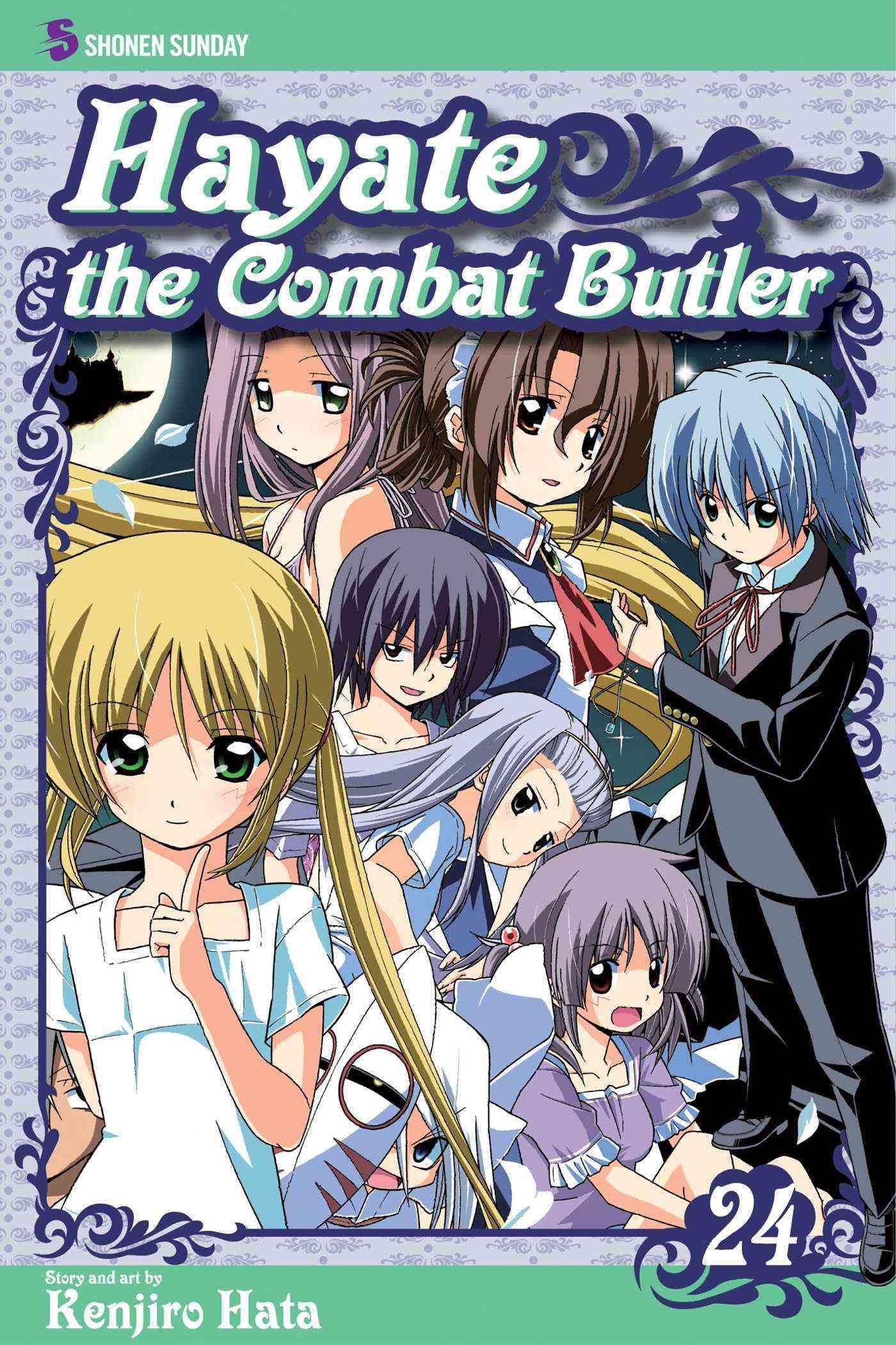 Hayate the Combat Butler 24 Shonen Sunday Edition