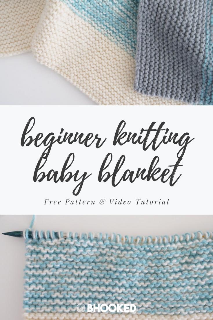 Photo of Easy Knit Babydecke für Anfänger