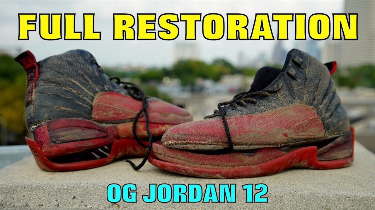 6effc2139eda14 OG JORDAN 12 FULL RESTORATION!! (FOUND IN TRASH) Feels 22 Sneakers.