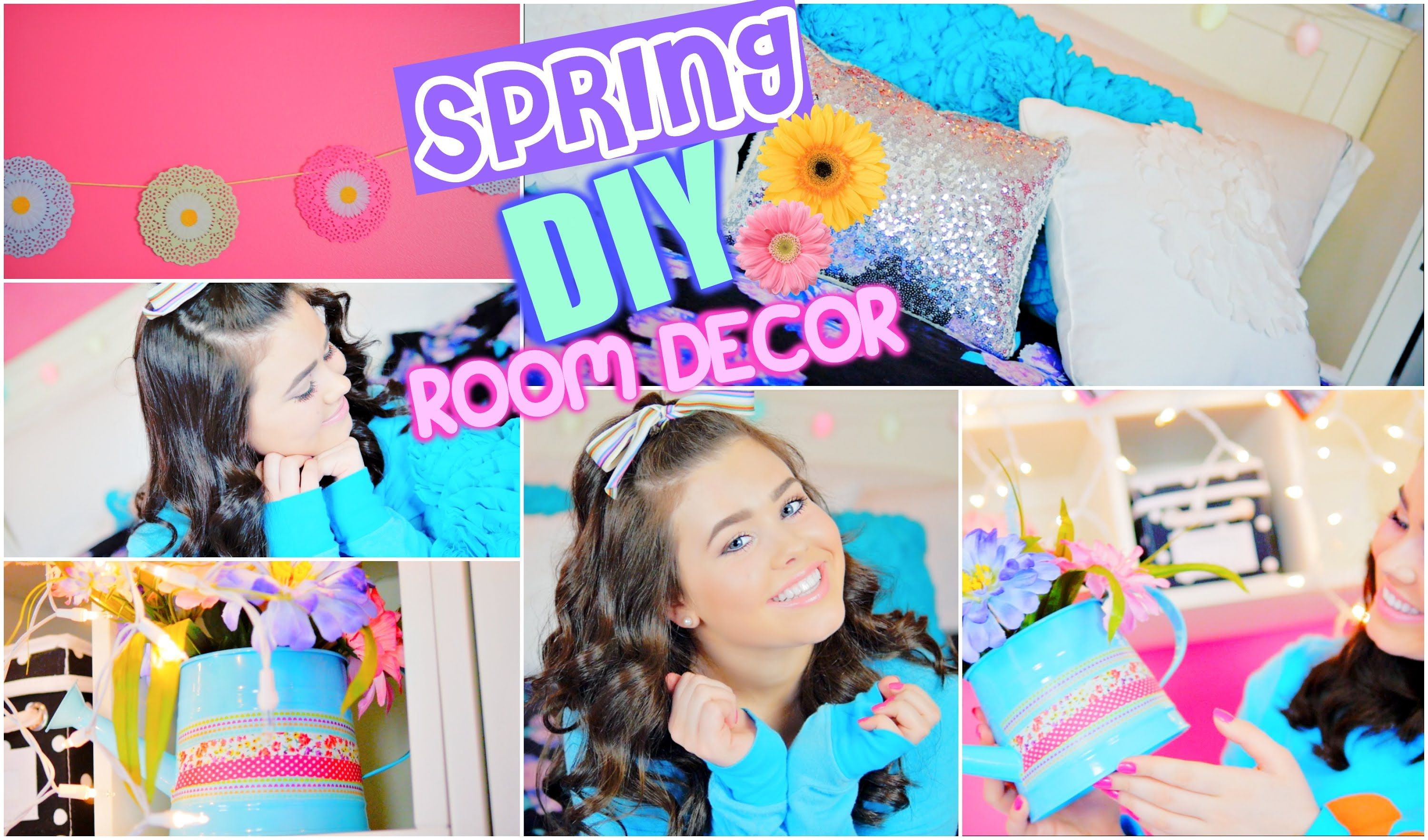 Diy Spring Room Decor Tumblr Inspired Easy Cute Affordable