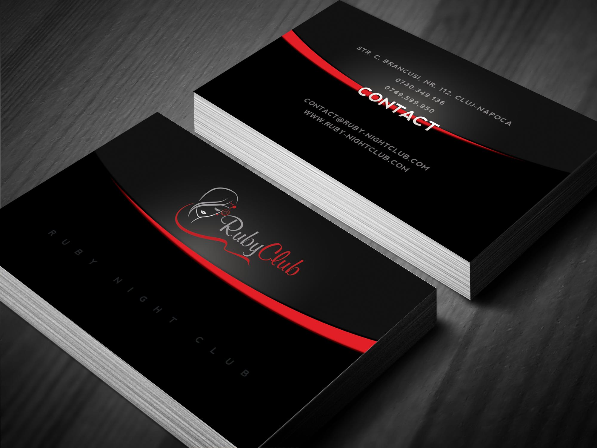 Ruby Night Club Business Cards Night Club Bose Speaker Soundlink Mini