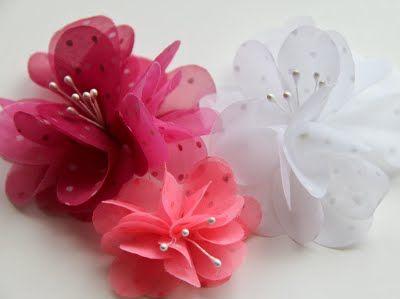 Ako si vyrobiť Látkové kvety