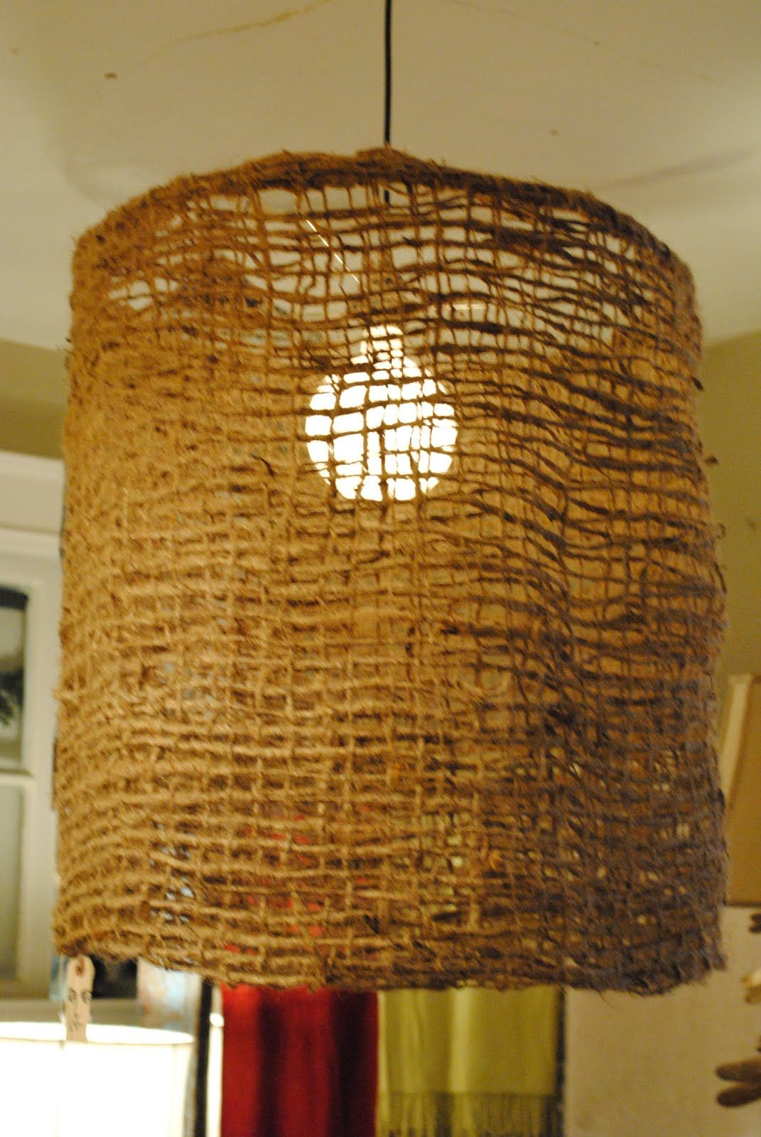 Love this light fixture for the home pinterest jute lights love this light fixture arubaitofo Images