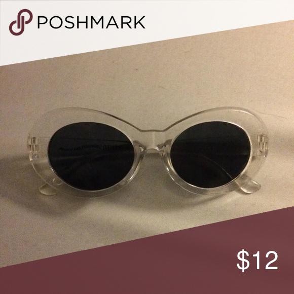Clear Clout Goggles Glasses Fashion Cute Sunglasses Sunglasses