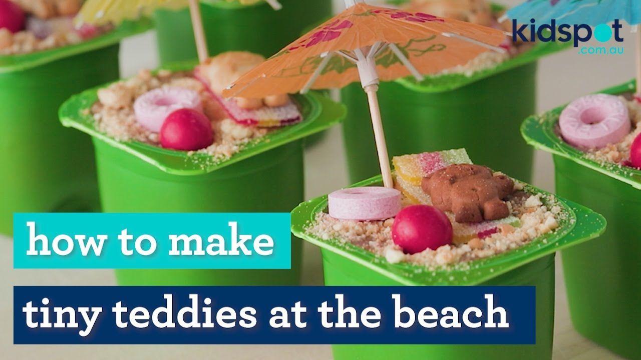Tiny Teddies at the beach   Kids party food   Kidspot