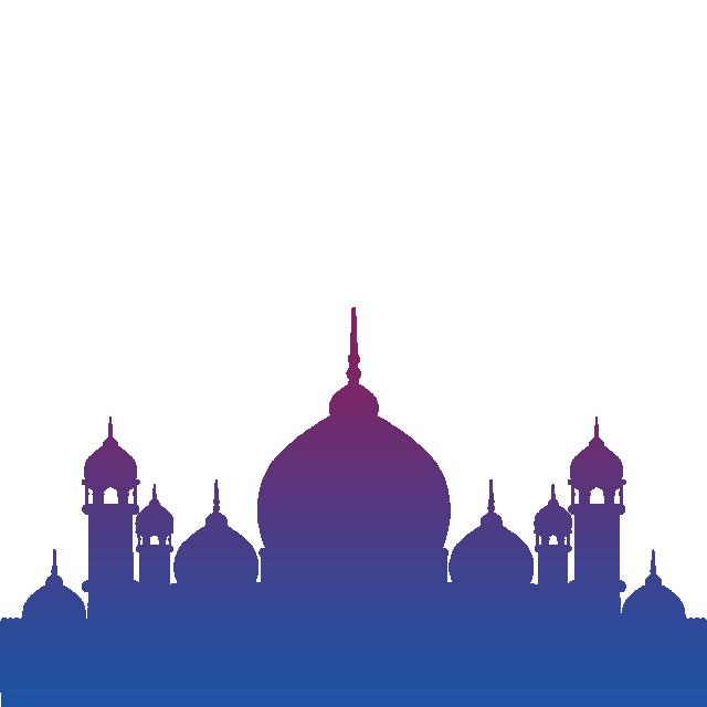 Beautiful Eid And Ramadan Kareem Masjid Vector With Gradient Eid Al Adha Masjid Clipart Masjid Png Ramadan Kareem Masjid Png Png Transparent Clipart Image An Bulan Ramadhan Foto Alam Mesjid