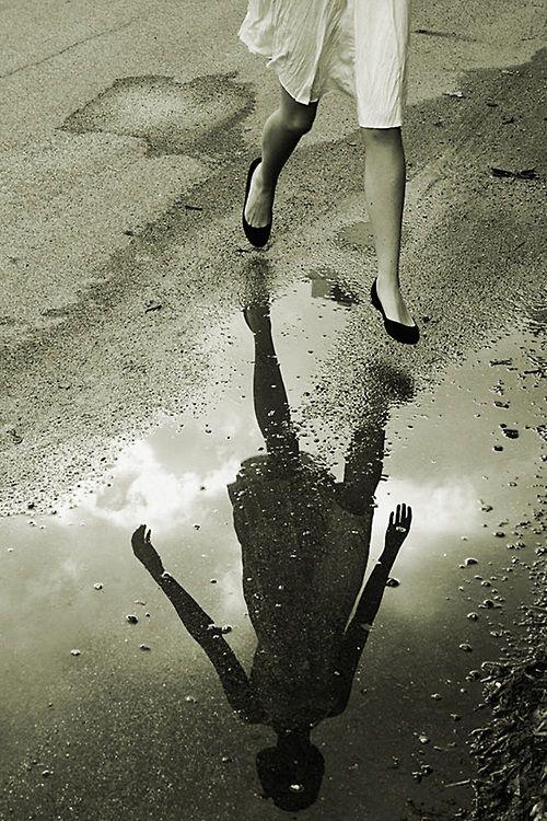 Through the rain….