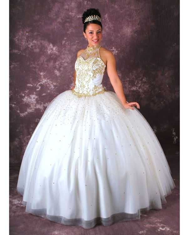 17 Best images about quinceanera on Pinterest | Gowns, White ball ...