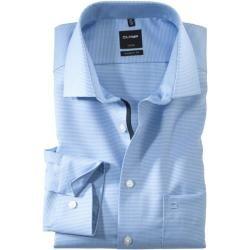 Photo of Olymp Luxor Shirt, modern fit, Global Kent, Bleu, 40 Olympolymp