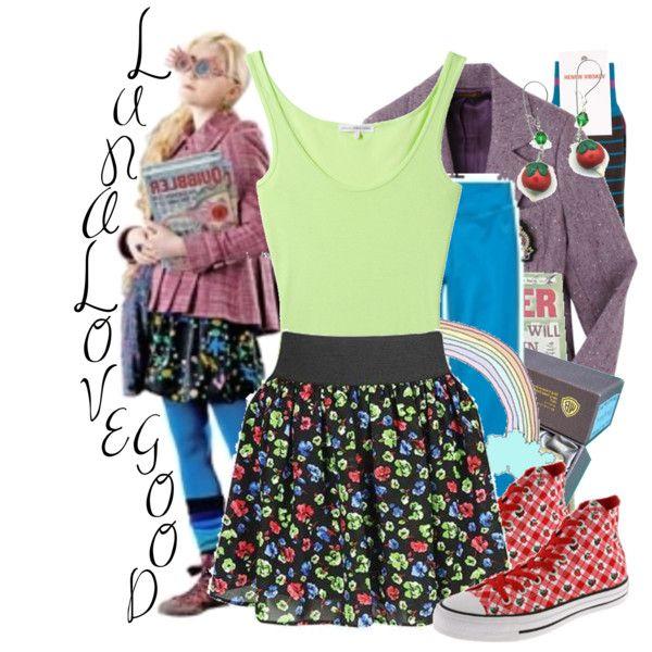 Dress like Luna Lovegood., created by shesawildone on ...