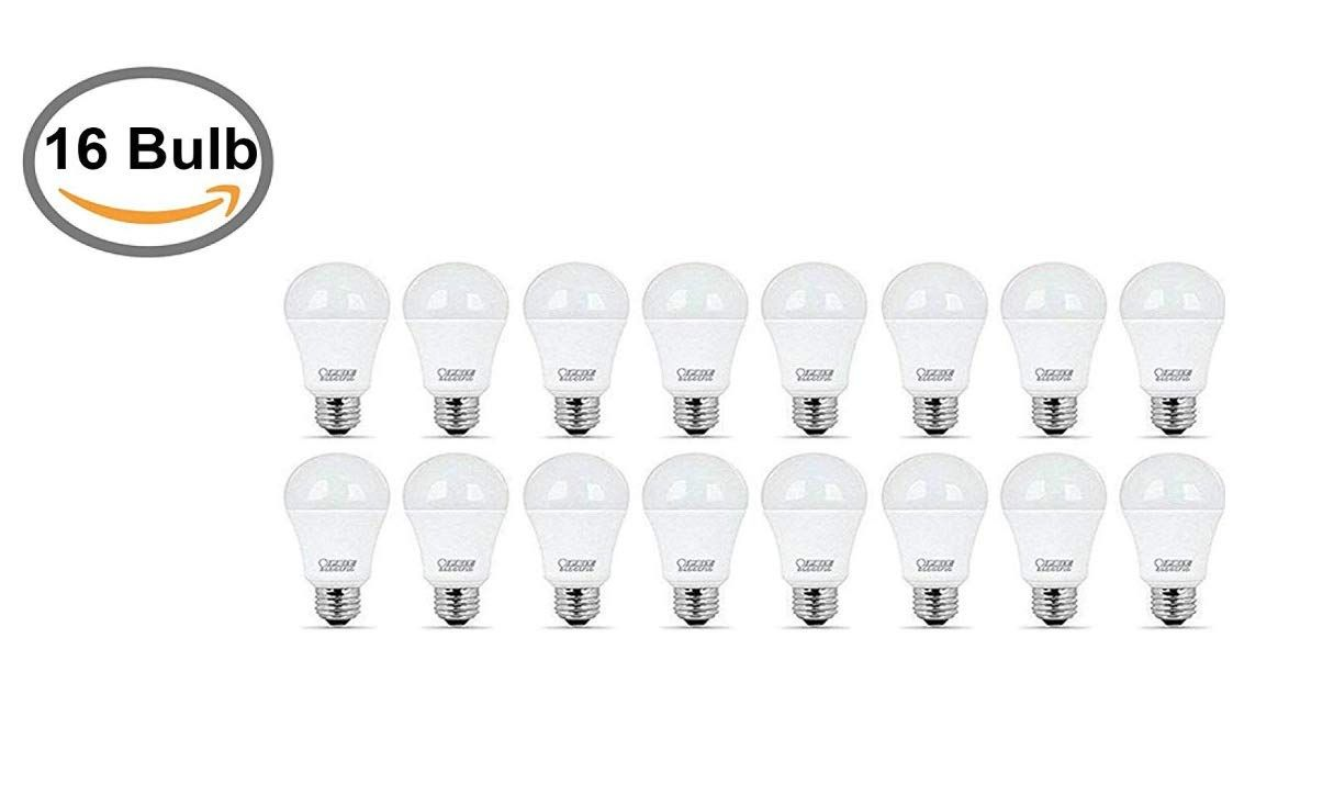Feit 100w 17 5w Led Dimmable 15 000 Life Hours 16 Bulbs You Can Get Additional Details At The Image Link This Is An Affiliate Link Led Bulb Bulb Led