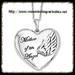 Mother of an angel with wings 925ss necklace other pinterest miscarriage jewelry aloadofball Images