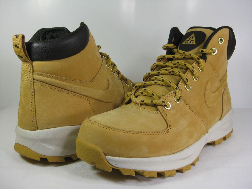 NIKE MANOA LEATHER Haystack/Velvet Brown -454350 700- MENS ATHLETIC BOOTS #Nike #HikingTrail