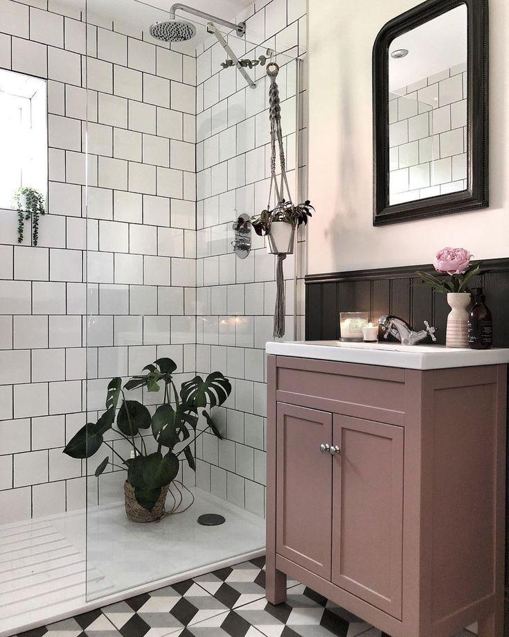 Photo of 16 rosa Badezimmer, die beweisen, dass diese Farbe in jedem Raum funktioniert