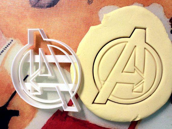 Avengers Logo Cookie Cutter