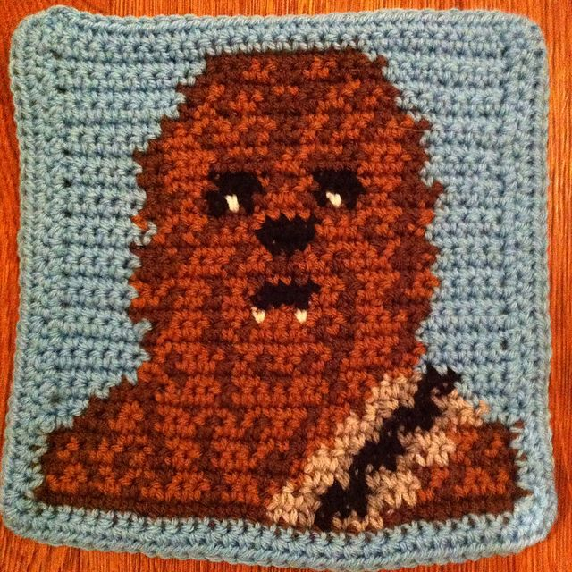 Star Wars crochet blanket : free charts and explanations ...