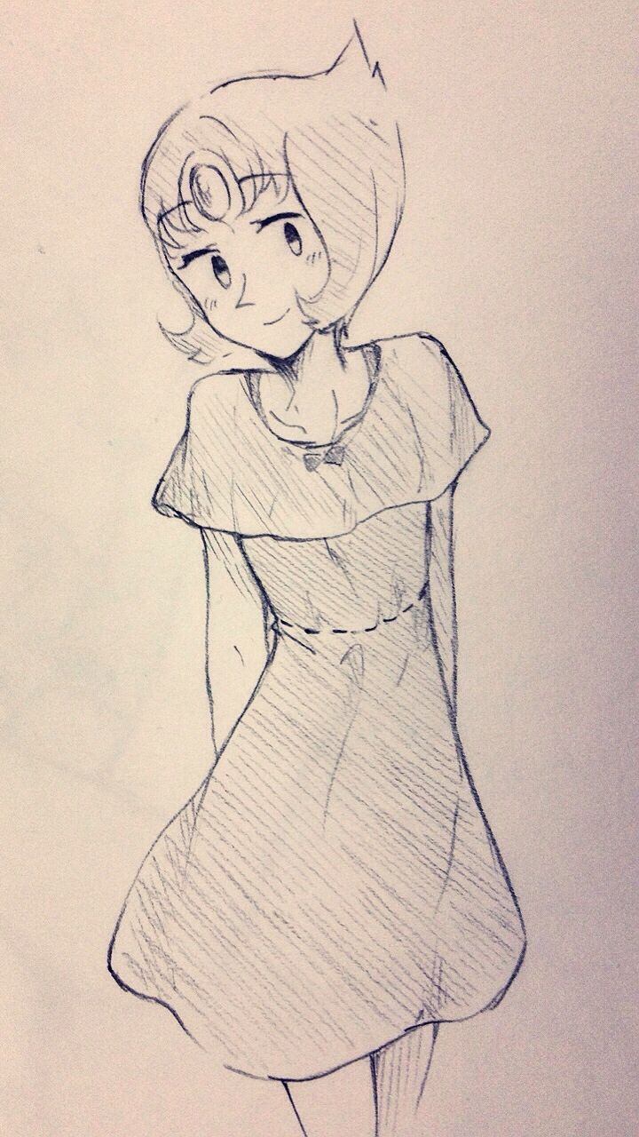 "rakugakisuto: ""some pearl fashions ♡ """