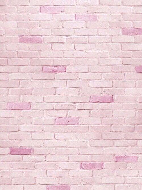 Pink Brick Wall Pink Wallpaper Brick Wallpaper Iphone