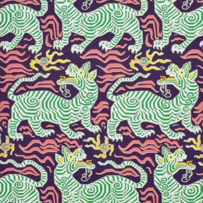 Schumacher Exotic Butterfly 13.5 L x 27″ W Wallpaper Roll