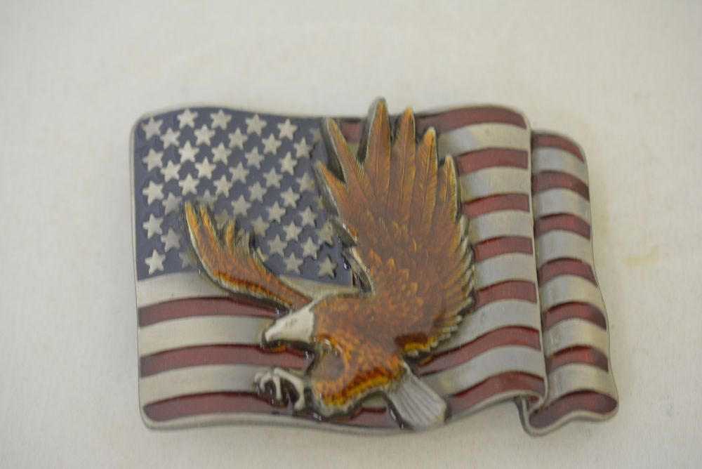 Native American Men Western Cowboys Cool Vintage USA Flag Eagle