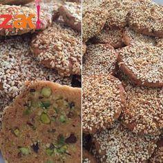 البرازق الشامية بطريقة احترافية زاكي Lebanese Recipes Food Food And Drink