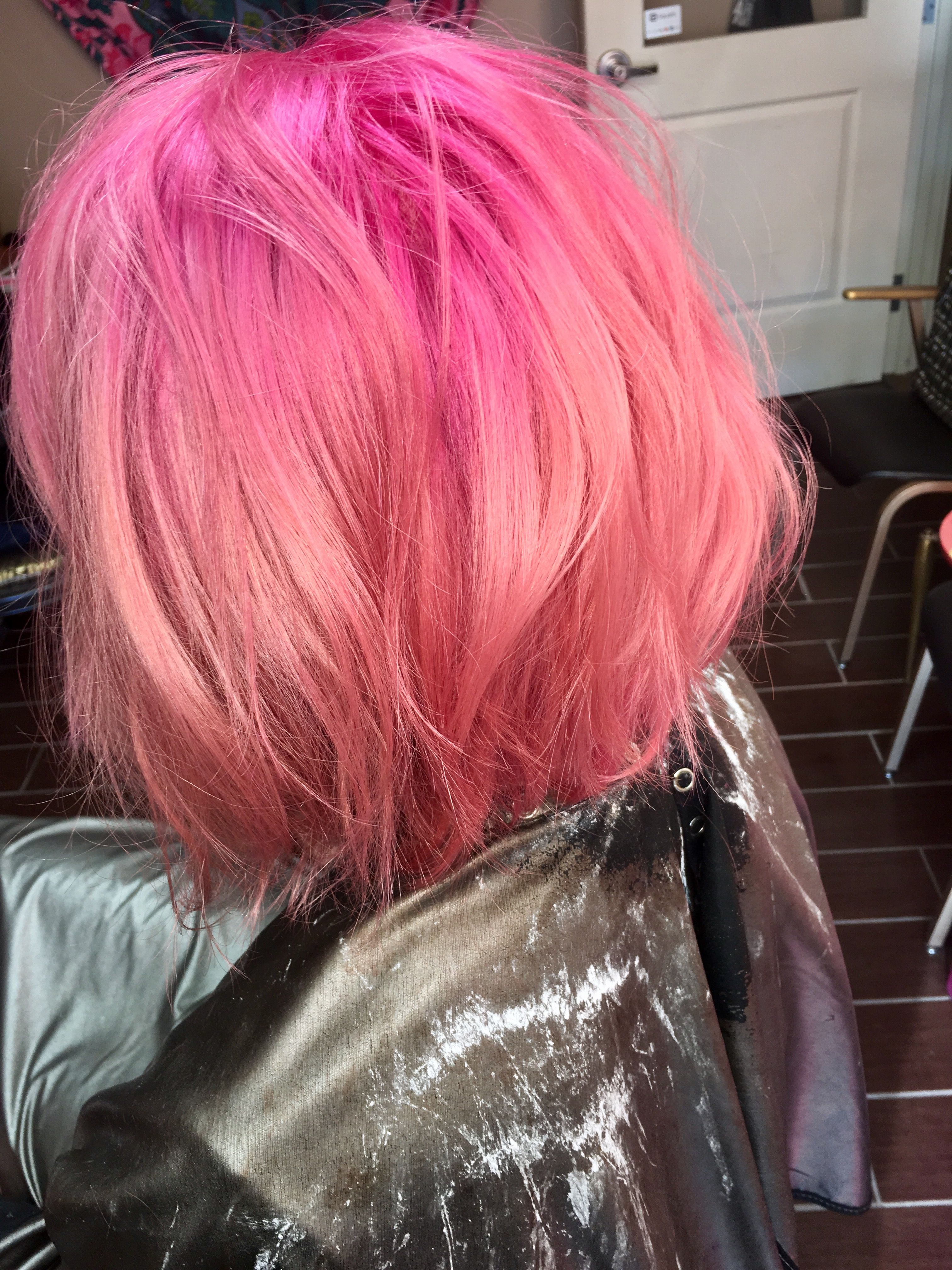 Pink ombre with redken citybeats redken citybeats beautybyblow
