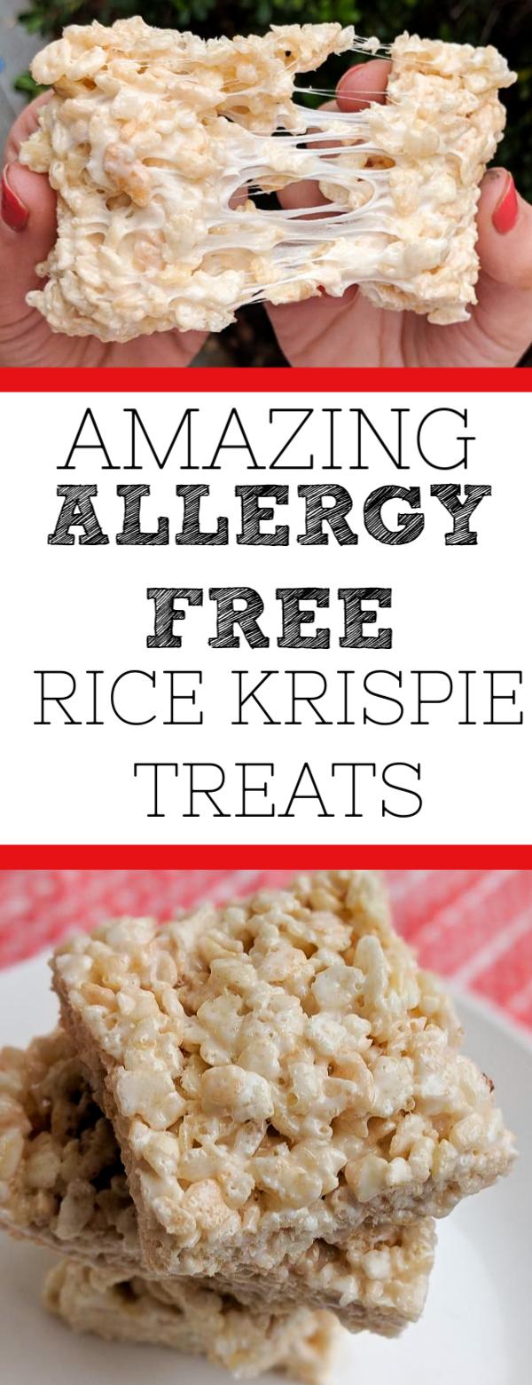 Allergy-free Rice Krispie Treats #ricekrispiestreats