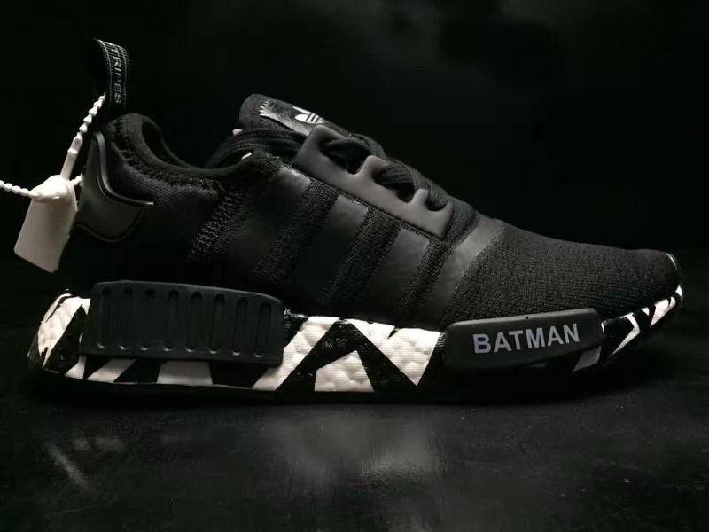 42b971875 Authentic Men Adidas NMD R1 SUPERMAN BATMAN Black BB6363