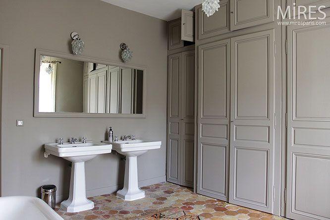 Double lavabo rétro C0074 Mires Paris X Home Sweet Home X
