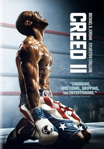 Creed Ii Dvd 2018 Filme Creed Michael B Jordan Rocky Balboa