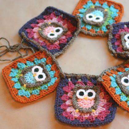 Owl Granny Square Crochet Pattern | Home > Spa Day > Scrubs ...