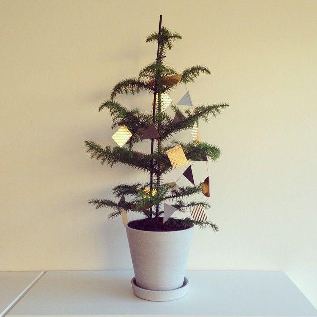 Har fået det fine træ med tilhørende julepynt i adventsgave  Bliver aldrig for stor til adventsgave  #advent #fermliving #haydesign #christmasfeeling